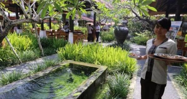jasa pembuatan taman restoran